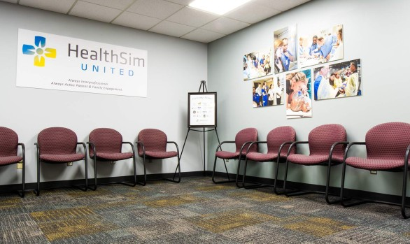 Health Sim at KU School of Medicine